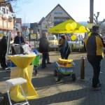 Leben auf dem FDP Rimbach Infostand 4