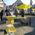 Leben auf dem FDP Rimbach Infostand 3