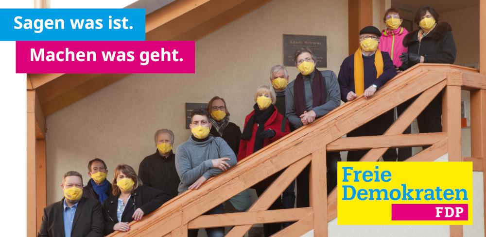 FDP Rimbach Flyer 2021